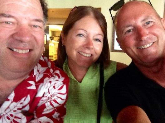 Dave Piemontesi, Cindy, Gary