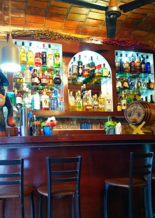 Tequila Bar with 350 different tequila's