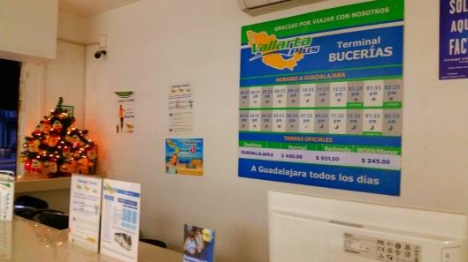 Vallarta Plus Bus Schedule