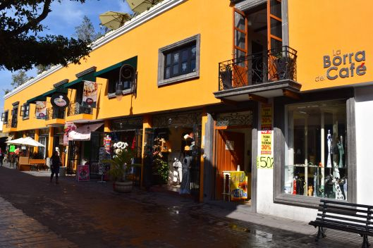 The streets of Tlaquepaque