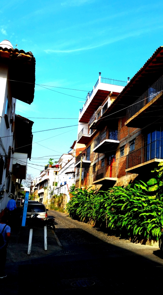 Streets of Puerto Vallarta