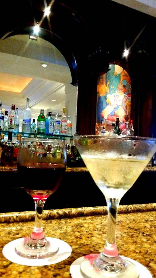 The martini bar at Las Hadas