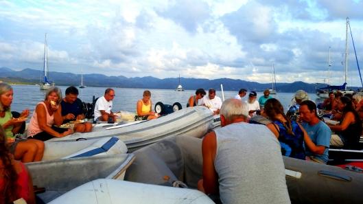 Mayors raft up at Tenacatita