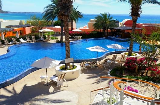 The pool at Costa Baja Marina