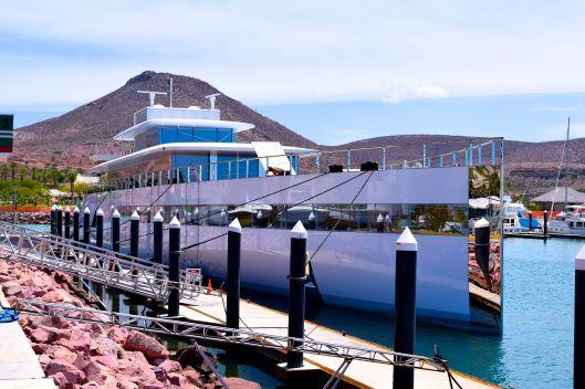 Steve Jobs boat at Costa Baja Resort and Marina.  Magnificent!