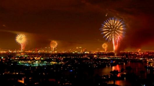 San Diego fireworks