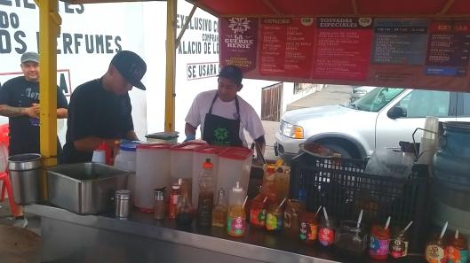 La Guerrerense in Ensenada.  50 year old family run business.
