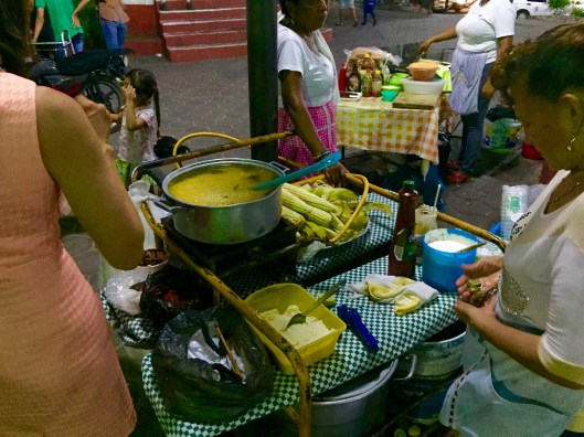 Cooking on the Zocalo