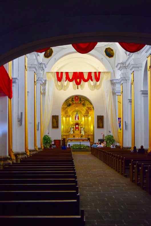 Inside Templo y Convento La Merced