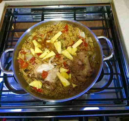 Paella one of our all time favorite one pot meals