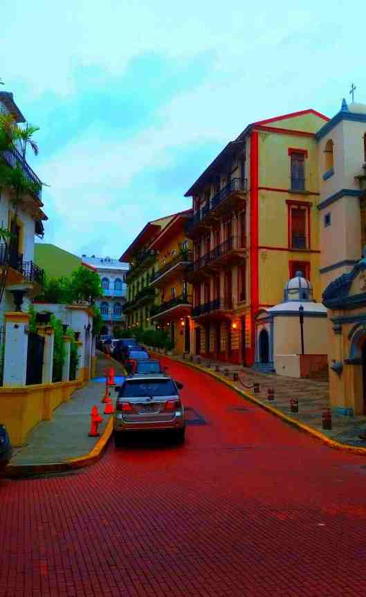 The streets of Old Town, Panama City, Panama