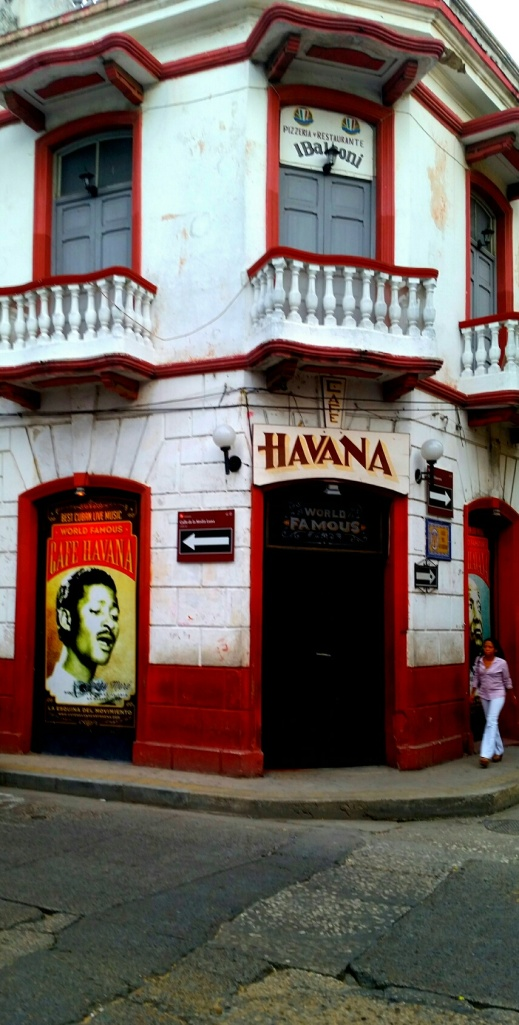 The Havana Club in Getsemani.