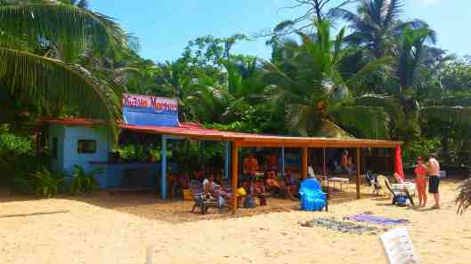 Nacho Mamas is our beach bar.  Cold beer and good tacos.