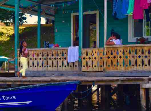 Boating is the way of life on the islands.  No cars here.  Each house had several panga's tied up.