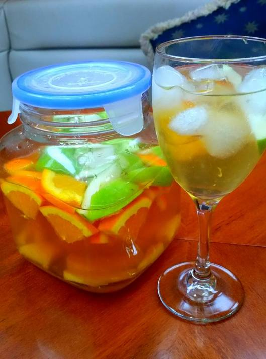Sangria, our signature drink on Sereno
